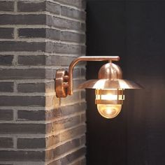 Nibe Wall Light Copper By Nordlux Peterreidlighting Outdoorlighting Gardenlighting