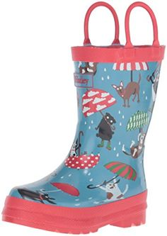 Hatley Boys' Raining Dogs Rainboots *** Check out this great image @