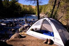 Leave No Trace:  Tips to leave your campsite clean and pristine.