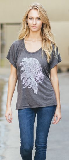 We all have a free spirit inside of us that is begging to be let free! $7 of every purchase goes back to Stand For The Silent, an anti-bullying organization! #Sevenly