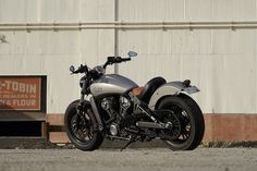 Custom Indian Scout modifications