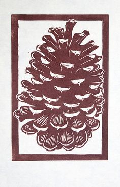 Pine Cone by bleedingheartpress, via Flickr