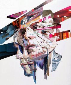 Malerei + Collage = Patrick Bremer | Art Armada