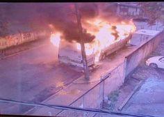 RS Notícias: Ônibus é incendiado na zona Sul de Porto Alegre