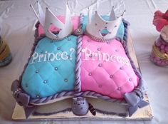 Gender Reveal Party Food and Baby Shower Drinks Ideas Twin Gender Reveal, Gender Reveal Themes, Pregnancy Gender Reveal, Gender Reveal Party Decorations, Gender Reveal Invitations, Party Themes, Gender Reveal Nails, Party Ideas, Pregnancy Photos