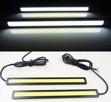 Car styling 2pcs 17cm 20W COB LED Lights DRL Daytime Running Light car lights For Universal Car 100% Waterproof Fog Parking    Item Type:17CM COB Daytime Running Light  Material: Aluminum Alloy + Cob Led  Color :White / Blue / Crystal Blue  Voltage: DC 12V   Feature: Waterproof, Anti-dust, anti-collision, safe and durable, easy toinstall.  Applicable:For Ford Chevrolet Audi Honda Hyundai Mazda Other Universal Car All car models  Long service life: more than 5,0000 hours     ...    US $1.81…