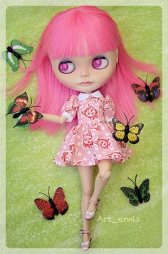 Pink and the butterflies | Flickr - Photo Sharing!
