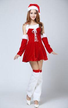 7f5ac21f6da CW14239 Uniform temptation uniform christmas performance clothing