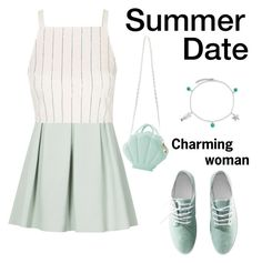 """""""Untitled #852"""" by nikola-sperlikova ❤ liked on Polyvore featuring Reiss, Topshop, H&M and Bling Jewelry"""