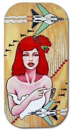 Street Art | Love bombs |Characters By Kazilla - Miami (FL)
