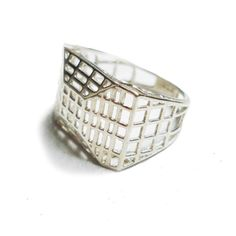 Geometric Ring by osnatharnoy on Etsy