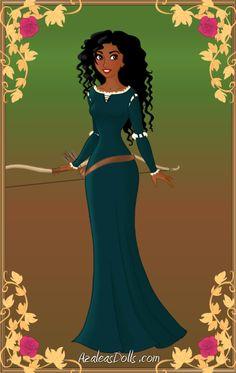 DISNEY PRINCESSES RE-IMAGINED AS WOMEN OF COLOR: Merida