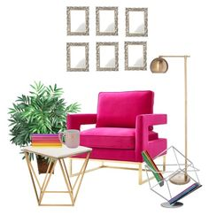 """""""Chic Reading Nook"""" by aedwish on Polyvore featuring interior, interiors, interior design, home, home decor, interior decorating, Nearly Natural, Avery, Grandin Road and Threshold Grandin Road, Interior Decorating, Interior Design, Reading Nook, Interiors, Chair, Natural, Polyvore, Furniture"""