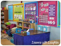 Supply Table - Lessons with Laughter: Classroom Tour 2013!