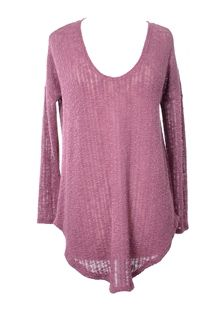 Rose Sweater Top by: