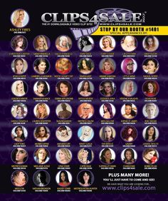 Stop by the Clips4Sale booth 1401 at AEE 2018 in Las Vegas!