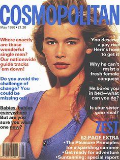 May 1990, Claudia Schiffer