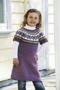 1011: Modell 17 Tunika #strikk #knit #fjells Drops Design, Frocks, Knit Dress, Knit Crochet, Fall Winter, High Neck Dress, Turtle Neck, Knitting, Sweaters