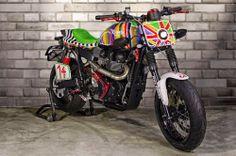 Free Spirits Triumph Scrambler ~ Return of the Cafe Racers