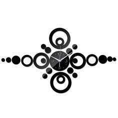 2015 frete grátis moda diy relógio de parede espelho diy relógios de quartzo sala modern acrílico relógio rosto decoração alishoppbrasil