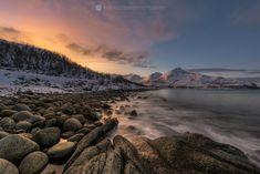 Arctic twilight, Tromsø, Northern Norway