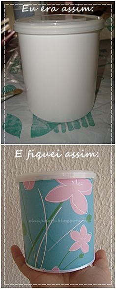 Decorate old nut tins, etc.