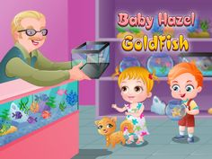 Baby Hazel and Liam are happy to have a new pet, a goldfish, whom they named Goldie. Kids are too young to look after the delicate fish, help them in feeding fish and making a fish tank for Goldie to live in. https://itunes.apple.com/us/app/baby-hazel-goldfish/id897720408?mt=8