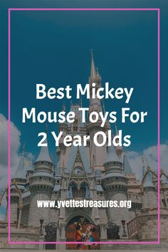 Mickey Mouse toys for 2 year olds. These Mickey Mouse toys are extremely popular and a must have for any toddler. #mickeymouseclubhousebirthdayparty #mickeymousebirthday #toys #uniquegiftideasforboys #Disney