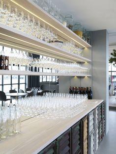 The bar at Verandah in Copenhagen made with Dinesen Douglas