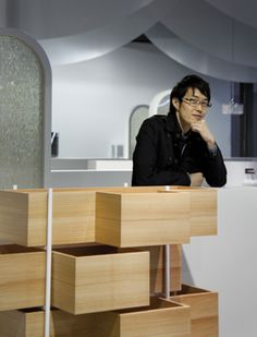 """Oki Sato  Thinking outside the box is what Oki Sato, chief designer and founder of Nendo is known for. In this exclusive interview he talks about his general design ethos, his latest collection and something he calls """"!""""  The entire idea was to blend the Eastern culture with the Western culture,"""" says Oki Sato, continuing, """"What I thought was that in the past the Japanese bath was something very public. That was the feel that I had for this collection. Every single detail is made of very…"""