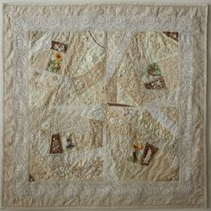 It took this quilter 3 years to make this wallhanging. Is it ever beautiful!