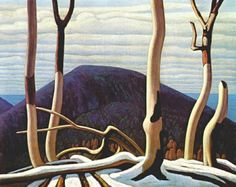 Above Lake Superior [in situ] Lawren Harris (Canadian, about 1922 Oil on canvas *Art Gallery of Ontario, Gift from the Reuben and Kate Leonard Canadian Fund, 1929 Group Of Seven Artists, Group Of Seven Paintings, Tom Thomson, Emily Carr, Canadian Painters, Canadian Artists, Lake Superior, Art Gallery Of Ontario, Canada