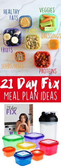 My 21 Day Fix Review! | Eat Yourself Skinny 21 Day Fix Menu, 21 Day Fix Plan, 21 Day Fix Diet, 21 Day Fix Meal Plan, 2 Week Diet, Portion Control, Country Heat, Shakeology, Healthy Meals