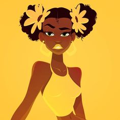 Happy Tuesday!!! . . . . . . .  #illustration #dailydoodle #dailydrawing #dailypic #artistoninstagram #tuesdaymotivation #fierce #obsessed #tuesday #freckles #flowers #yellow #girlsinanimation #design #digitalart  #natural #design #characterdesign #art #drawing #doodle #animation #susancurrydesign