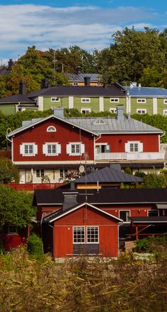 Old city of Porvoo, Finland