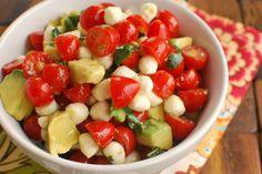 Salade composé, simple et délicieuse.