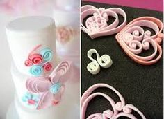 Image result for quilling cakes airplane