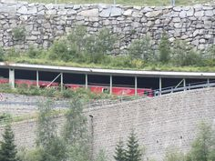 Gotthard: Straßen und Eisenbahn
