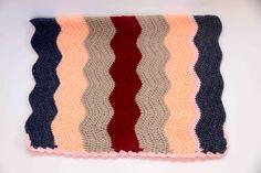 Ripple hizakake (lap blanket)