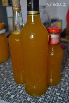 Mandarínkový sirup (fotorecept)