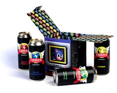 byway:  I just found this great 'Chaos Emerald' energy drink...
