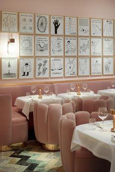 A Londra rosa Sketch
