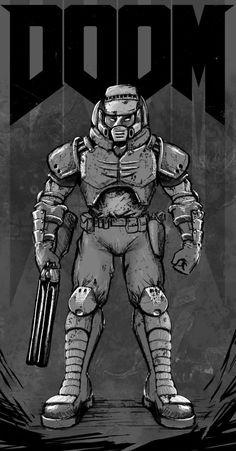 Doom Warrior by FrancoFerrari on DeviantArt