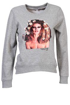 BRIGITTE BARDOT  Sweat shirt sérigraphié    Imprimé Brigitte Bardot