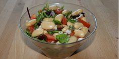 Salat med limabønner
