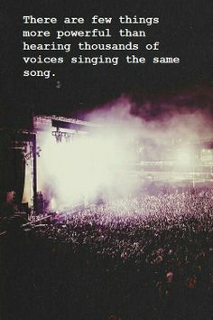 Concerts. <3