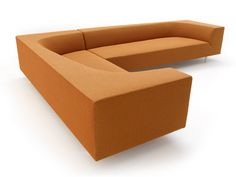 Sectional upholstered sofa BORA BORA by MDF Italia | design Piergiorgio Cazzaniga, Andrei Munteanu