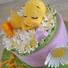 ssssss.......is sleeping! - Cake by Orietta Basso