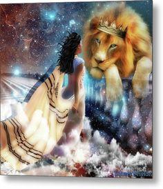 Lion Of Judah Digital Art - Steadfast Gaze by Dolores Develde Black Women Art, Black Art, Arte Judaica, Image Jesus, Lion Love, Tribe Of Judah, Bride Of Christ, Prophetic Art, Biblical Art