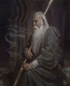 art Elf lord of the rings aragorn LOTR hobbits fantasy concept art Gondor mordor digital art wizard medieval Tolkien Middle Earth Hobbit staff minas tirith sauron the ring Smaug dwarf shire Mithrandir high fantasy The white lonely monuntain Thranduil, Legolas, Midle Earth, High Fantasy, Fantasy Art, Das Silmarillion, Terra Nova, John Howe, O Hobbit